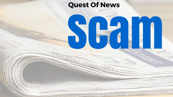 quest of news scam