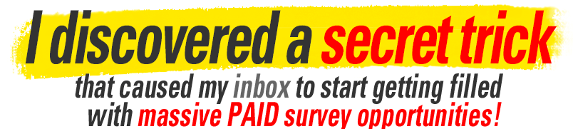 is take surveys for cash a scam