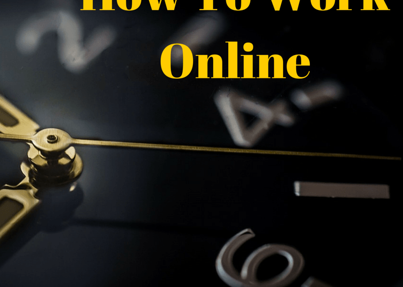 how to work online part time