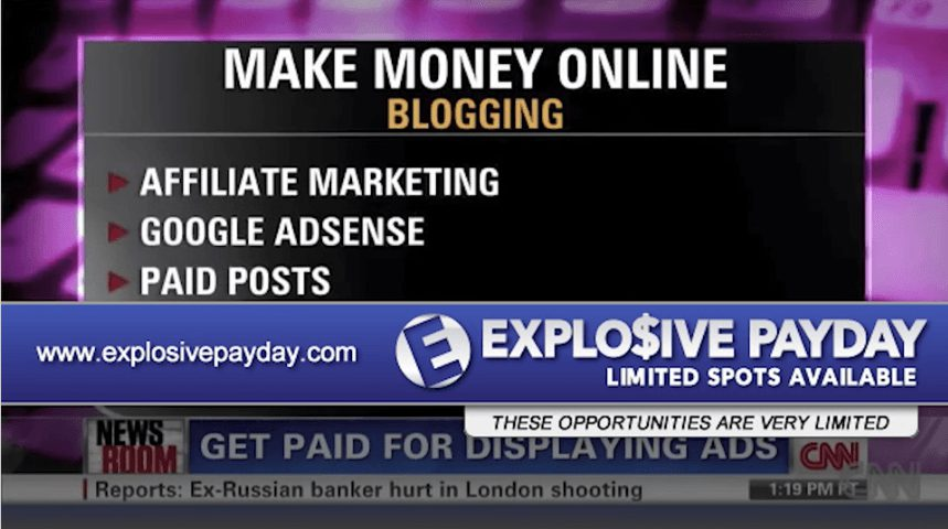 is explosive payday a scam