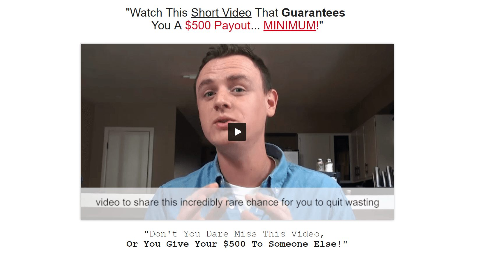 is cash with matt a scam