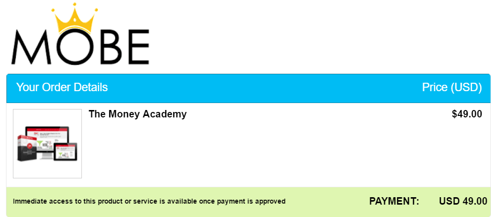 the money academy review