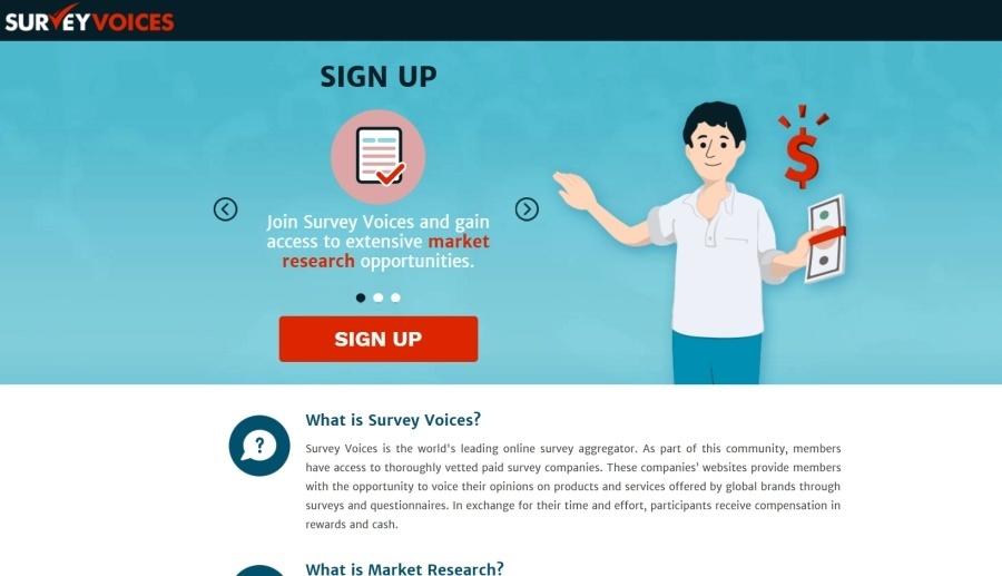 is survey voices a scam