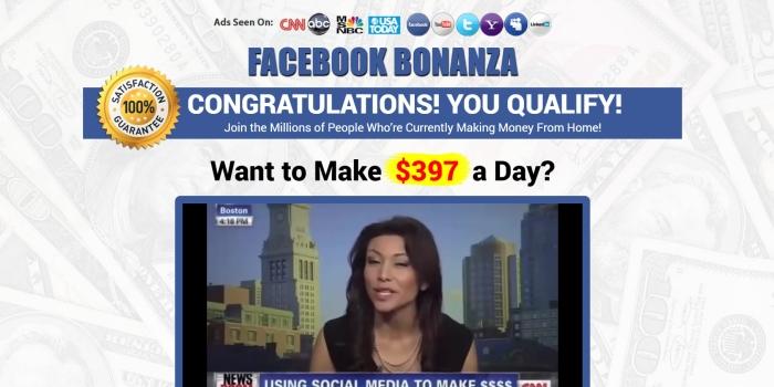 is facebook bonanza real