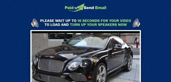paid to send email a scam