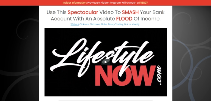 is new lifestyle now a scam