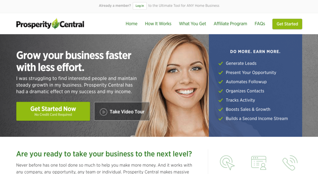 prosperity central review